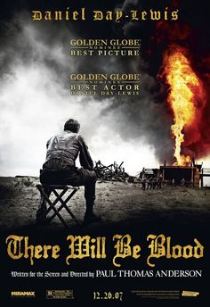 There Will Be Blood Drama, 158 minutes Directed by Paul Thomas Anderson Starring Daniel Day-Lewis, Paul Dano and Ciaran Hin. Film Movie, Dvd Film, See Movie, Film Music Books, Films Cinema, Cinema Posters, Movie Posters, Boogie Nights, Paul Dano