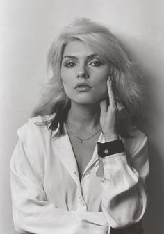 Deborah Harry. one of the worlds most fantastically perfect mouths ever...at least until Angelina jolie.