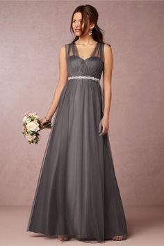 Bridesmaid dress. Shadow grey colour High Street Bridesmaid Dresses e090540e1932
