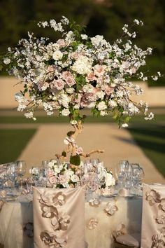Gorgeous Blooming Tree Centerpiece