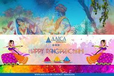 Celebrate the festival of colors with love and affection  #Aaicakitchen #Wishes #HappyRangpanchami with #LotsOfFun www.aaica.co.in