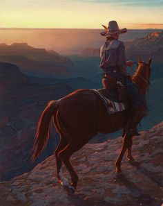 Mark Maggiori is a French painter who paints modern cowboys in the nostalgic American West. Cowboy Art, Cowboy And Cowgirl, Cowboy Pictures, Le Far West, Native American Art, American Indians, Old West, Horse Art, Western Art