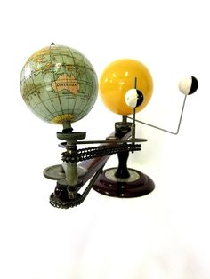 Vintage World Globe Trippensee Planetarium C1943 by UPSTARTS - I want one of these!