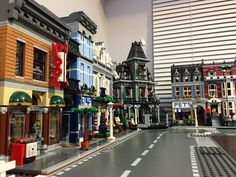 Fire Brigade was delayed for another week in the mail until it arrives I was looking forward to building it today ._. On the bright side the city is shaping up nicely xD  #Lego #modular #DetectivesOffice #10246 #LegoCreator #LegoModular #ParisianReataurant #PetShop #HauntedHouse #minifigures #10243 #legoland #10218 #toptoyphotos #bricknetwork #legostagram #legos #brickleague #Bricklink #toplegophoto #afol #kuwait by kw.lego