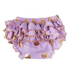 Gold Polka Ruffle Bloomer Shorts from kidspetite.com!  Adorable & affordable baby, toddler & kids clothing. Shop from one of the best providers of children apparel at Kids Petite. FREE Worldwide Shipping to over 230+ countries ✈️  www.kidspetite.com  #girl #toddler #shorts #clothing Short Outfits, Kids Outfits, Toddler Girl Shorts, Girl Toddler, Ruffle Diaper Covers, Ruffle Bloomers, Baby Girl Newborn, Baby Girls, Short Girls