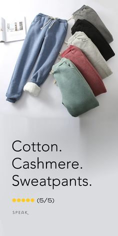 Cotton Cashmere Sweatpants - The perfect gift for that perpetually cold person in your life. size winter outfits going out Cotton Cashmere Sweatpants - The perfect gift for that perpetually cold person in your life. Winter Outfits, Casual Outfits, Cute Outfits, Cozy Sweaters, Beautiful Outfits, What To Wear, Winter Fashion, Sweatpants, Street Style