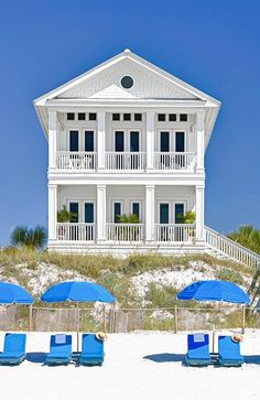 Rosemary Beach house rental - MAIN--Gulf Front (Beach Walkover Attached @ 2nd Floor Porch)