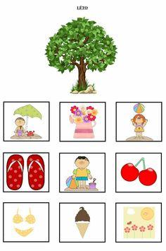 Seasons Activities, Summer Activities For Kids, Crafts For Kids, Preschool Education, Kindergarten Math, Summer Crafts, Pre School, Four Seasons, Montessori
