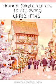Why You Should Visit the Colmar Christmas Market - Where to find the best Christmas Markets in Alsace - Christmas Market of Colmar Christmas Markets Europe, Christmas Travel, Holiday Travel, Christmas Trips, Merry Christmas, Best Places To Travel, Cool Places To Visit, Places To Go, Europe Travel Guide