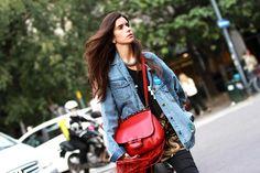 Street style Milan SS15