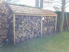 Houtopslag / wood storage