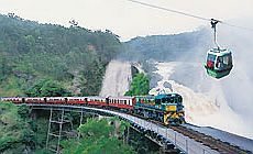 Kuranda Train Skyrail Cairns Scenic Railway Australia. A must do when you visit Cairns