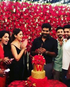 Nayanthara throws surprise birthday bash for beau Vignesh Shivan; Says 'This one is special' Birthday Blast, 33rd Birthday, Birthday Parties, Birthday Celebrations, Graphic Design Lessons, Picture Banner, Romantic Birthday, Dress Indian Style, Inspirational Celebrities