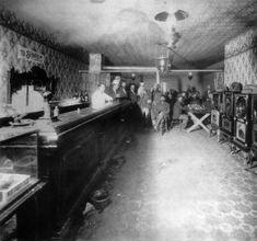 Tim Looney's Saloon, Montezuma, Colorado :: 1880