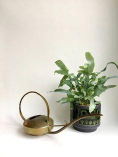 Vintage Gießkanne Kupfer Kanne Blumenkanne Blumentopf Gardening, Succulents, Interior, Plants, Vintage, Etsy, Copper, Cactus, Flowers