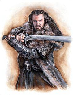 Thorin Oakenshield by jankolas on deviantART ~ The Hobbit: DoS