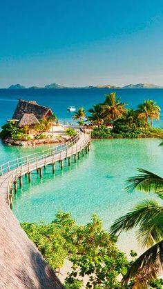 Likuliku Lagoon Resort, Malolo Island Fiji - So many beautiful beaches in so many beautiful places! Vacation Places, Vacation Destinations, Dream Vacations, Places To Travel, Tropical Vacations, Italy Vacation, Holiday Destinations, Brazil Vacation, Dream Vacation Spots
