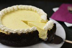 Ricotta-Käsekuchen mit Schokolade Keks Kruste