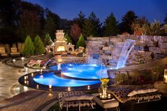 If you are working with the best backyard pool landscaping ideas there are lot of choices. You need to look into your budget for backyard landscaping ideas Insane Pools, Amazing Swimming Pools, Swimming Pools Backyard, Swimming Pool Designs, Pool Spa, Cool Pools, Lap Pools, Indoor Pools, Pool Decks