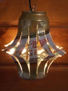 SERIOUSLY????????  Beer Can Lantern?  STOP IT!!!!  HAHAHAHAHA!