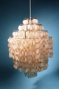 Ceiling lamp, Fun Lamp. Designed by Verner Panton for Lüber