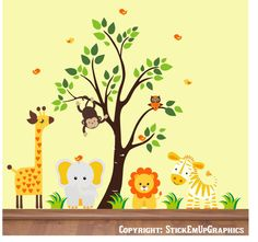 I love the Noah's Ark theme with yellow being the main color. LOVE YELLOW!!!