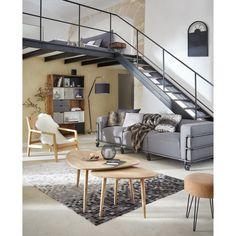 Mesa baja vintage de mango macizo Trocadero | Maisons du Monde Conference Room, Loft, Patio, Bed, Outdoor Decor, Design, Furniture, Home Decor, Mesas