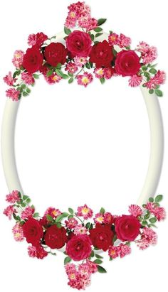 By Artist Unknown. Rose Frame, Flower Frame, Frame Background, Paper Background, Boarders And Frames, Page Borders Design, Printable Frames, Framed Wallpaper, Borders For Paper