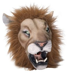Deluxe Lion Costume Mask