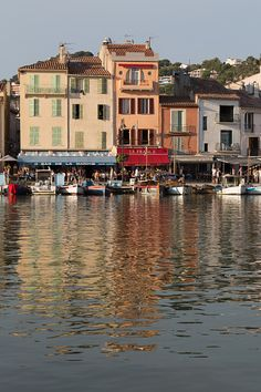 The quayside in Cassis