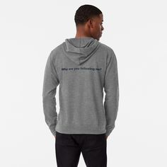 'volunteer- agent of change' Lightweight Hoodie by DrZe Mens Lightweight Hoodie, Agent Of Change, Festival Outfits, Hoodies, Sweatshirts, Talk To Me, French Terry, Feminism, Chiffon Tops