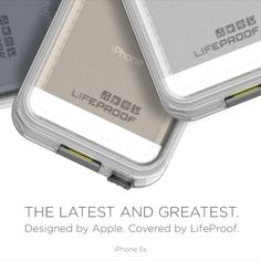 LifeProof/Waterproof Phone case - make your phone a little bigger but completely worth it to protect high dollar phones from dust, mud, spills, puddles, and whatever else you encounter. Iphone 5 Cases, Cute Phone Cases, 5s Cases, Iphone Se, For Elise, Cool Cases, Iphone Accessories, Cool Items, Gadgets