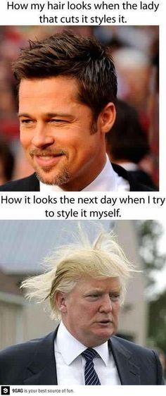After the hairdresser
