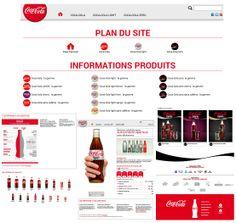 """Le site nous pousse à l'action de plusieurs façons. La première, en nous proposant de cliquer sur les différentes gammes de produits pour les découvrir. Ensuite, en nous incitant à nous rendre sur les réseaux sociaux. Enfin, en mettant à disposition des vidéos et articles qui s'animent lorsque la souris passe dessus. Ces vidéos sont très attractives et rendent le site vivant. Par exemple, """"La Garden Party Coca Cola Light c'était comment ?"""""""