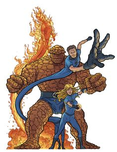 Fantastic Four by Geof Darrow *