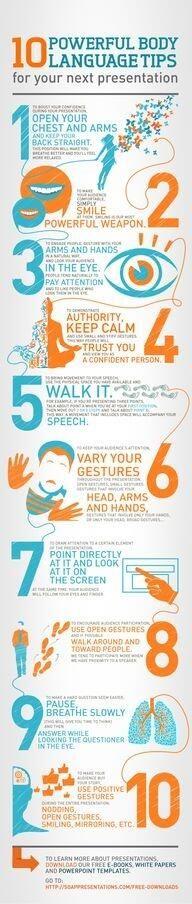 Presentation tips-long overdue!