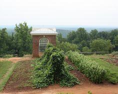 Jefferson's Monticello outside Charlottesville, VA
