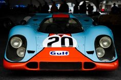 itcars | itracing:#20 Gulf Racing Porsche 917 at Rennsport Reunion IV(Image by ...