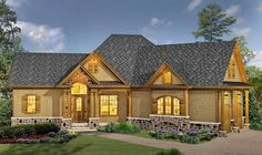 Classic Hip Roofed Cottage with Options - 15886GE | 1st Floor Master Suite, Bonus Room, Butler Walk-in Pantry, CAD Available, Corner Lot, Craftsman, Jack & Jill Bath, MBR Sitting Area, Mountain, Northwest, PDF, Photo Gallery, Ranch, Split Bedrooms | Architectural Designs