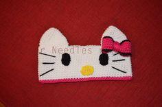 Paper, Needles n Sweets : Hello Kitty Crochet Headband