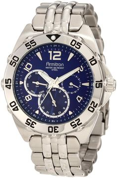 Armitron Men's 20/4664 Multi-Function Dial Bracelet Watch ** Check out the image by visiting the link.