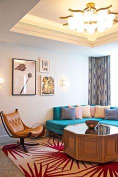 Suite at Nautilus South Beach hotel, Miami