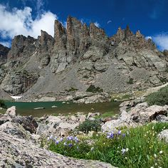 Sky Pond in Rocky Mountain National Park, Colorado - Mountain photography prints by Aaron Spong