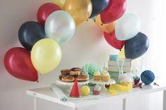 #DIY Tabletop Balloon Arch