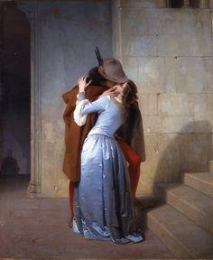 Francesco Hayez - Il Bacio / The Kiss, 1859