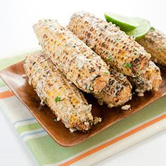 Mexican-Style Charcoal-Grilled Corn :: America's Test Kitchen :: Recipes