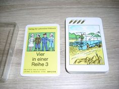 Vier in einer Reihe III Quartettspiel ab 4 Jahre unbespielte Karten Altenburg