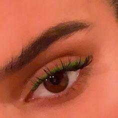 "Pink and green eye makeup History of eye makeup ""Eye care"", put simply, ""eye make-up"" Makeup Eye Looks, Eye Makeup Art, Makeup For Green Eyes, Natural Eye Makeup, Cute Makeup, Pretty Makeup, Simple Makeup, Skin Makeup, Eyeshadow Makeup"