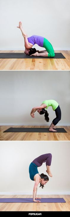 Photos of 25 advanced yoga poses to challenge your practice (or be inspired by!) #yoga