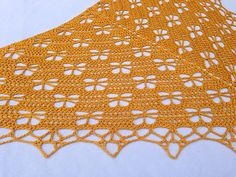 Ravelry: Butterfly Stitch Shawl: free crochet pattern by njSharon AND DebiAdams